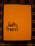 Hello Friend by