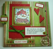 Holiday Circle Journal by