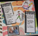 My 10 wishes circle journal (2nd page) by