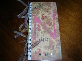 altered note book by