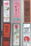 Various ideas for bookmarks by