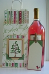 Altered wine bag by