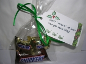 "don't ""snicker"" by"