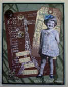 CS1: Dance with your heart / Collage card by