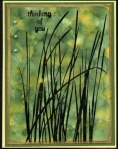 IAP9 Alcohol Ink - Tall grass by
