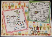 A b-day card for a May 6th b-day by