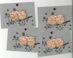 My You're A Hoot ATCs for Mrs.Middletons Swap by